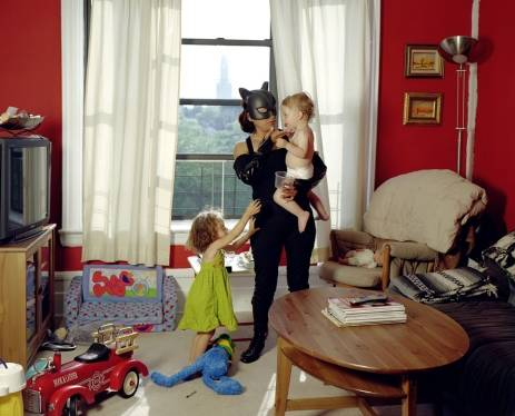 Catwoman mamma