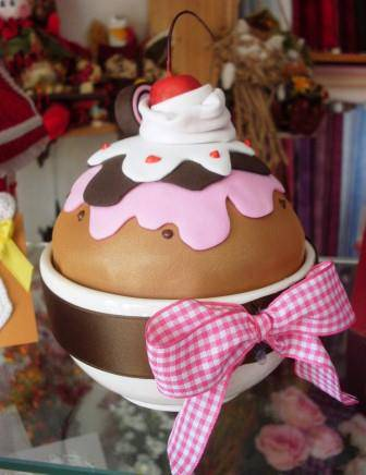 Moosgummi Cupcake