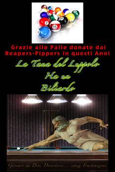 BILIARDO TANA palle reapers