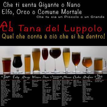 TANA DEL LUPPOLO MISURE beer