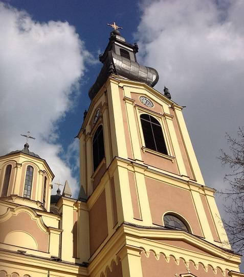 la principale chiesa ortodossa di Sarajevo