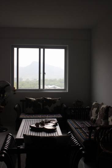 dalla finestra di sala