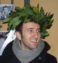 Francesco Bonazzi il giorno della laurea in SCIENZE DELLA COMUNICAZIONE