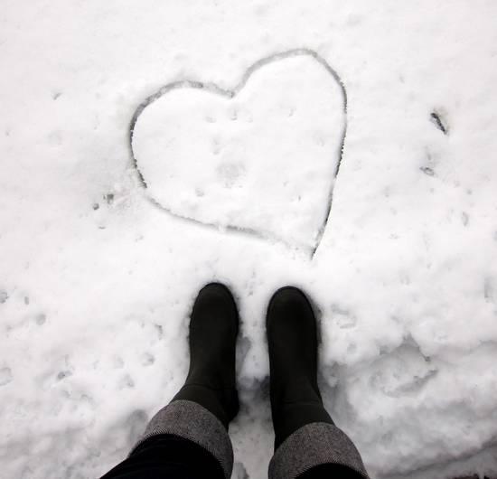 Cuore Nella Neve.