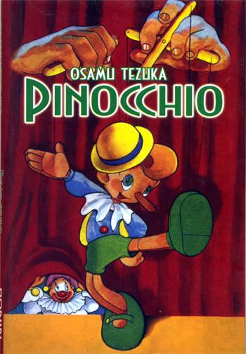 Copertina Pinochcio Roni Manga