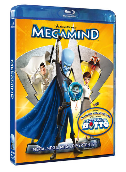 Megamind, Blu-Ray, Cover, Recensione