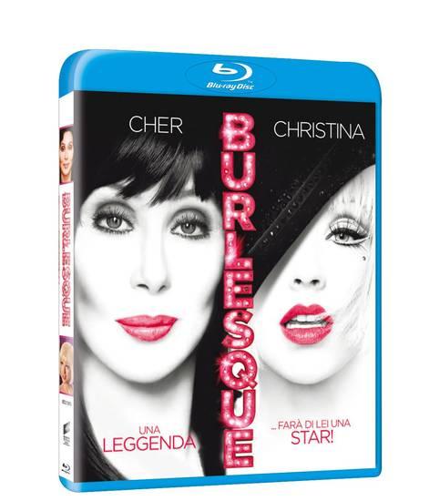 Burlesque concorso giarrettiera buono sconto DVD Blu-ray