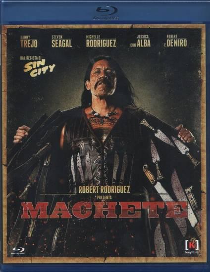 Machete Blu-Ray Copertina