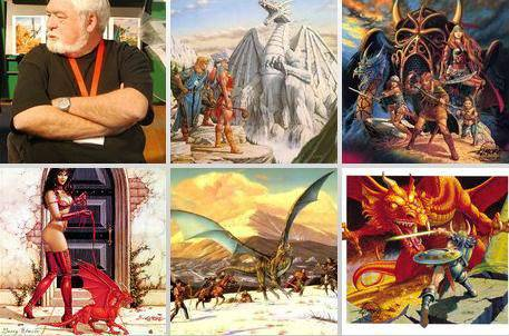 larry elmore dungeons and dragons