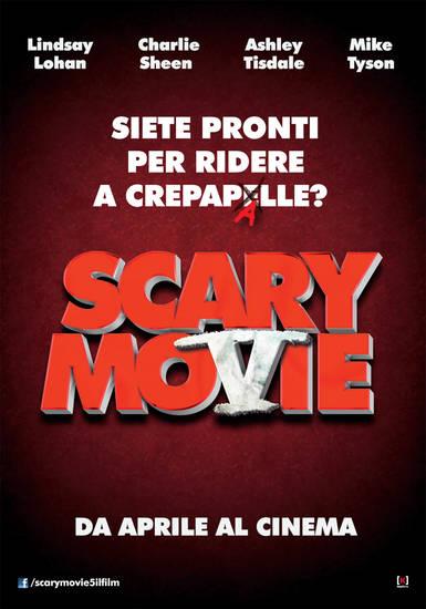 Scary movie 5 poster italiano