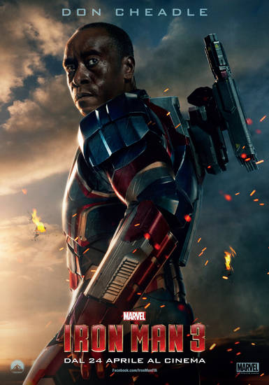 Iron-man 3 Iron Patriot