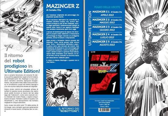 mazinger gp manga