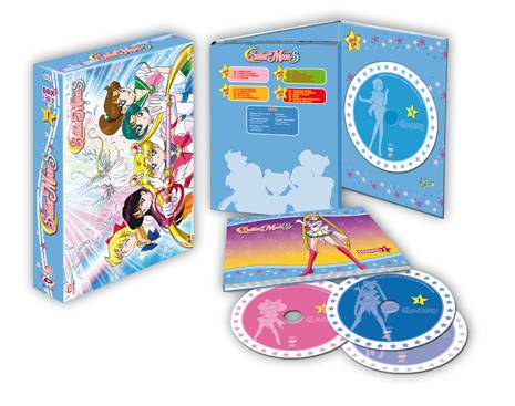 sailor moon super s box dvd dynit collector's edition
