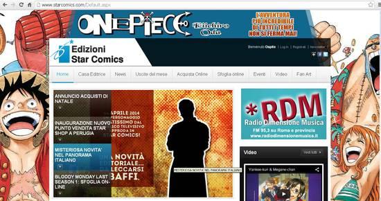star comics nuovo sito