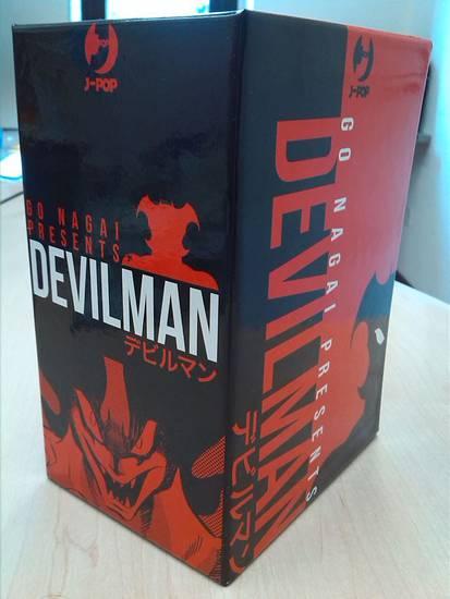 devilman manga completo box j-pop