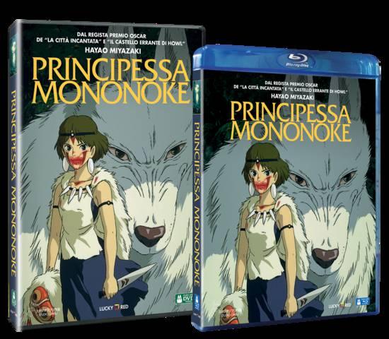 principessa mononoke dvd blu-ray