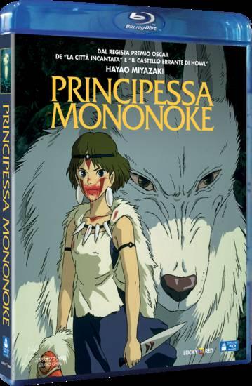 principessa mononoke blu-ray