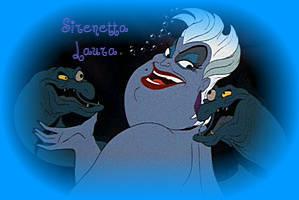 Ursula la strega del mare personaggio antagonista del cartone