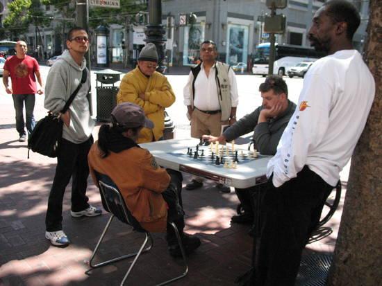 Schacchisti ambulanti