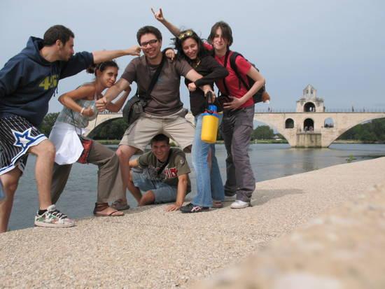 mezzo ponte d'Avignone