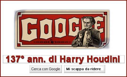 137° anniversario di Houdini
