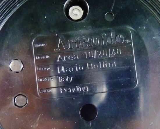 Lampada Artemide Area Mario Bellini 1974 Rare Mid Century ...