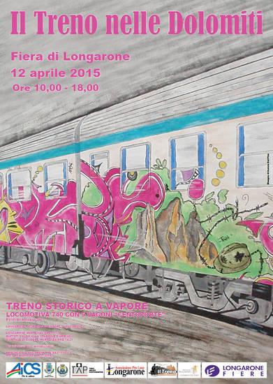 Il treno nelle Dolomiti 2015