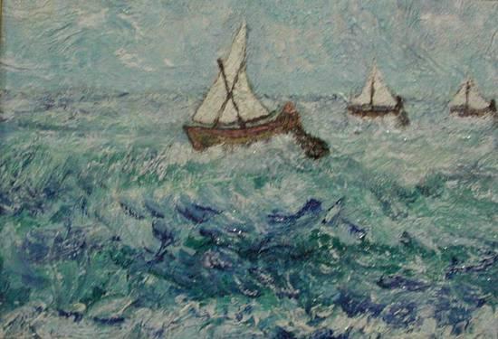 barche alla pesca