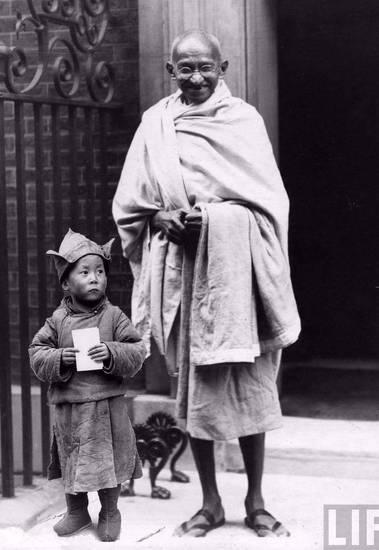 Dalai lama bambino