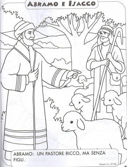 Disegni biblici da colorare credenti - Foglio da colorare della bibbia ...