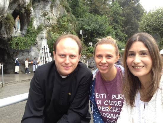 LOURDES , DON MICHELE BARONE ,