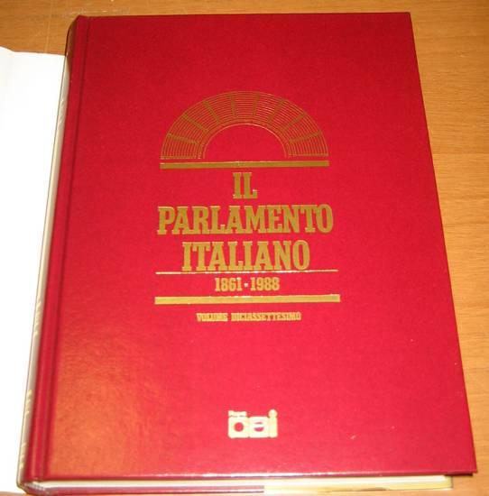 Il parlamento italiano vol xvii il centrismo dopo de for Sito parlamento italiano