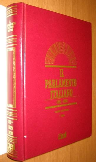 Il regime fascista il parlamento italiano vol xii storia for Sito parlamento italiano