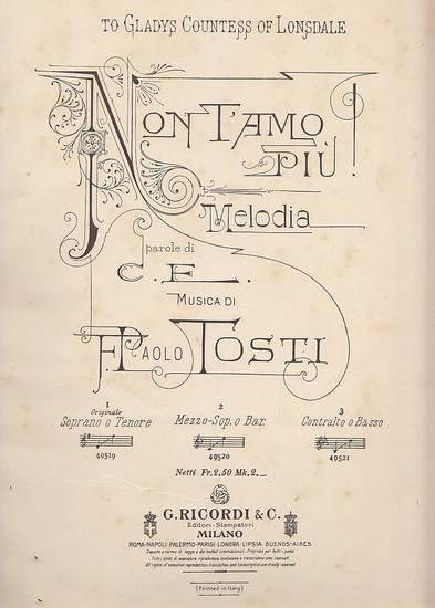 Sogno melodia- musica F. Paolo