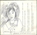 1966 Ritratto di Pegeen Guggen