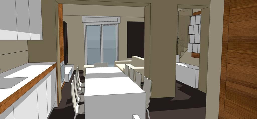 Forum Arredamento.it •Mi aiutate? Illuminazione soggiorno cucina!