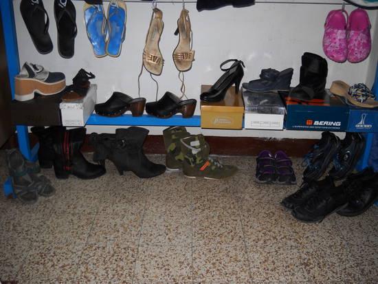 le mie scarpe in esposizione per voi