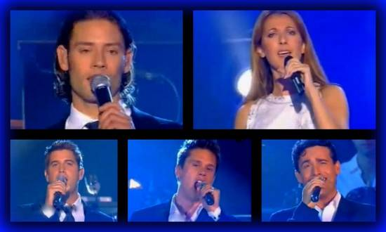 Celine dion il divo i believe in you je crois en toi - Il divo and celine dion ...