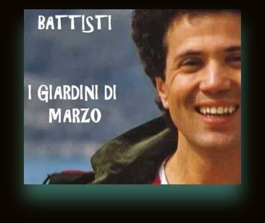 Lucio battisti i giardini di marzo su solo musica italiana for I giardini di marzo