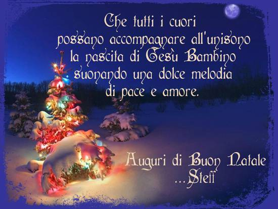 Auguri Di Buon Natale Affettuosi.Auguri Di Natale Per Una Persona Speciale