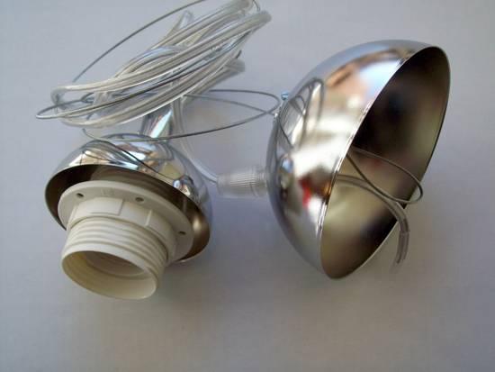 attacchi per lampadari : ... Cromato Portalampada Lampadario Con Per Pictures to pin on Pinterest