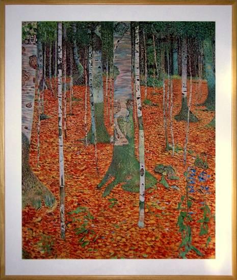 Birch Forest, Klimt - la mia i