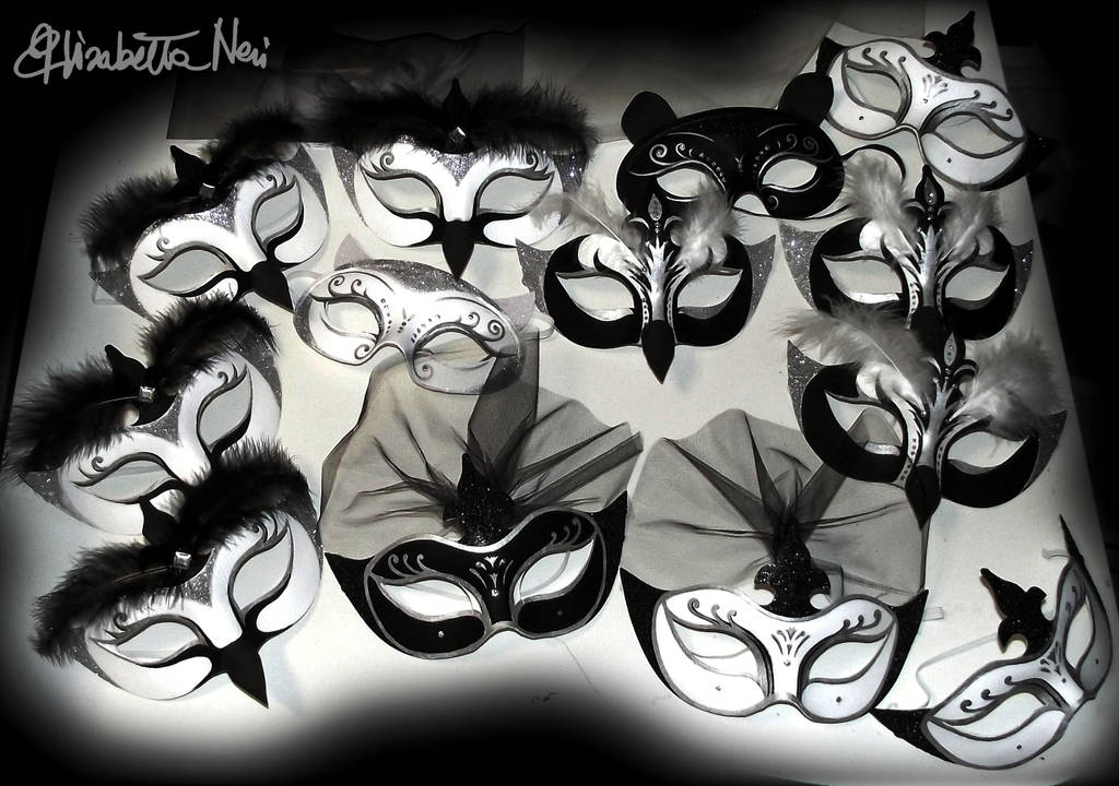 maschere di Elisabetta Neri