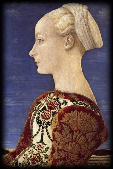 ritratto femminile-Pollaiolo