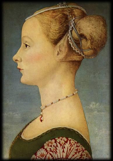 ritratto femminile - Pollaiolo