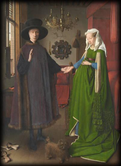 ritratto dei Coniugi Arnolfini - Jan Van Eyck