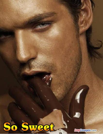 uomo al cioccolato