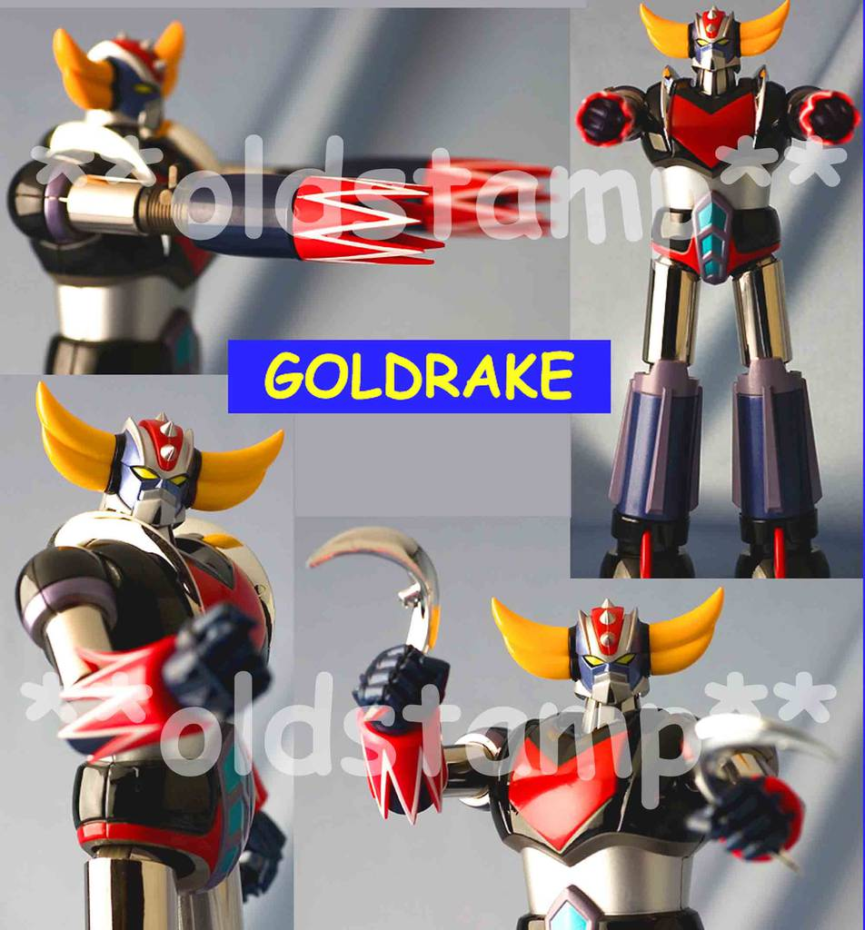 Bandai GX-04s Goldrake Goldorak Grendizer Spaizer Set Soul