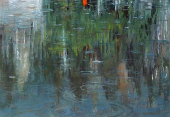pioggia-olio-su-tela-50x7