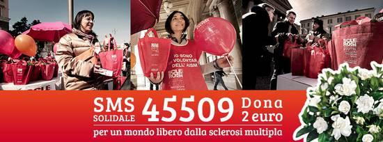 Dal 25 febbraio al 10 marzo Invia un sms al 45509 per donare 2 euro